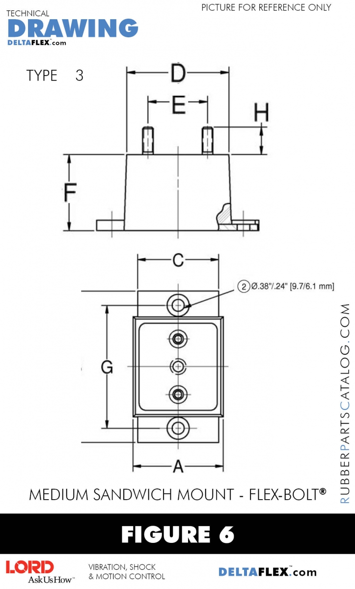 J 5294 2 lord j 5294 series medium rubber sandwich mount rubber parts catalog delta flex lord small industrial nvjuhfo Image collections