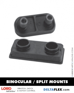 Rubber-Parts-Catalog-Delta-Flex-LORD-Binocular-Split-Mounts
