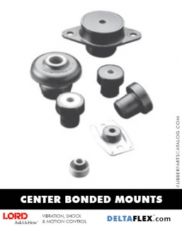 Rubber-Parts-Catalog-Delta-Flex-LORD-Center-Bonded-Mounts