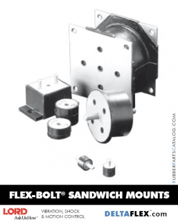 Rubber-Parts-Catalog-Delta-Flex-LORD-Flex-Bolt-Sandwichl-Mounts
