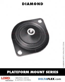 Rubber-Parts-Catalog-Delta-Flex-LORD-Plateform-Mount-Plateform-Mount-Series-Diamond