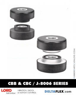Rubber-Parts-Catalog-Delta-Flex-LORD-Two-Piece-Mounts-CBB-CBC-J-8006-Series-figure