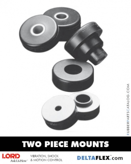 Rubber-Parts-Catalog-Delta-Flex-LORD-Two-Piece-Mounts