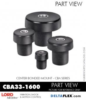 Rubber-Parts-Catalog-Delta-Flex-LORD-Corporation-Vibration-Control-Center-Bonded-Mounts-CBA33-1600