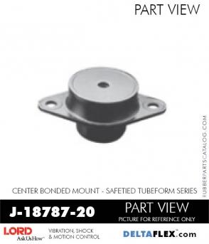 Rubber-Parts-Catalog-Delta-Flex-LORD-Corporation-Vibration-Control-Center-Bonded-Mounts-J-18787-20