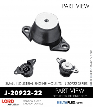 J 20922 22 Lord Small Engine Mount Industrial