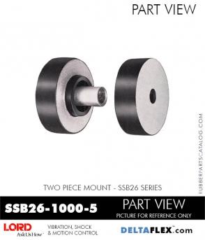 Rubber-Parts-Catalog-Delta-Flex-LORD-Corporation-Two-Piece-Mount-SSB26-1000-5