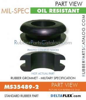 Rubber Grommet | Mil-Spec | MS35489-2