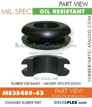 MS35489-43 | Rubber Grommet | Mil-Spec