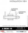 Rubber-Parts-Catalog-Delta-Flex-LORD-Bushings-Center-Bonded-Bushings-RubberPartsCatalog.com - LORD Corporation Center-Boned Bushing J-3830-13