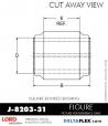 Rubber-Parts-Catalog-Delta-Flex-LORD-Bushings-Square-Bonded-Bushings-J-8203-31