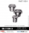 Rubber-Parts-Catalog-Delta-Flex-LORD-Corporation-Vibration-Control-Center-Bonded-Mounts-CB-1120-3
