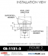 Rubber-Parts-Catalog-Delta-Flex-LORD-Corporation-Vibration-Control-Center-Bonded-Mounts-CB-1121-2