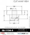 Rubber-Parts-Catalog-Delta-Flex-LORD-Corporation-Vibration-Control-Center-Bonded-Mounts-CB-1124-5