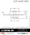 Rubber-Parts-Catalog-Delta-Flex-LORD-Corporation-Vibration-Control-Center-Bonded-Mounts-J-18748-30