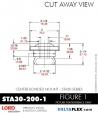 Rubber-Parts-Catalog-Delta-Flex-LORD-Corporation-Vibration-Control-Center-Bonded-Mounts-STA30-200-1
