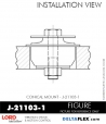 Rubber-Parts-Catalog-Delta-Flex-LORD-Corporation-Conical-Mount-J-211003-1