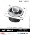 Rubber-Parts-Catalog-Delta-Flex-LORD-Corporation-Conical-Mount-J-21104-1