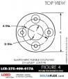 Rubber-Parts-Catalog-Delta-Flex-LORD-DYNAFLEX-Coupling-LCR-Type-LCR-275-400-017A