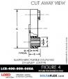 Rubber-Parts-Catalog-Delta-Flex-LORD-DYNAFLEX-Coupling-LCR-Type-LCR-400-800-060A