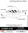 RUBBER-PARTS-CATALOG-DELTAFLEX-Vibration-Isolator-LORD-Dynaflex-Shear-Type-Couplings -Coupling-J-1211-1-2