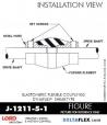 RUBBER-PARTS-CATALOG-DELTAFLEX-Vibration-Isolator-LORD-Dynaflex-Shear-Type-Couplings -Coupling-J-1211-5-1