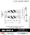 RUBBER-PARTS-CATALOG-DELTAFLEX-Vibration-Isolator-LORD-Dynaflex-Shear-Type-Couplings -Coupling-SK-1947-6