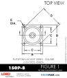 RUBBER-PARTS-CATALOG-DELTAFLEX-Vibration-Isolator-LORD-Corporation-PLATEFORM-MOUNT-SERIES-Square-150P-8