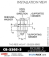 Rubber-Parts-Catalog-Delta-Flex-LORD-Corporation-Two-piece-mount-cb-2200-series-CB-2205-3