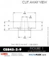 Rubber-Parts-Catalog-Delta-Flex-LORD-Corporation-two-piece-mounts-CBB-CBC-CBB45-2-9