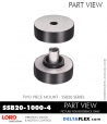 Rubber-Parts-Catalog-Delta-Flex-LORD-Corporation-Two-Piece-Mount-SSB20-1000-4