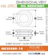 MS35489-14 | Rubber Grommet | Mil-Spec