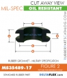 MS35489-17 | Rubber Grommet | Mil-Spec