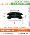 MS35489-21 | Rubber Grommet | Mil-Spec