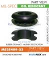 MS35489-23 | Rubber Grommet | Mil-Spec