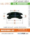 MS35489-27 | Rubber Grommet | Mil-Spec