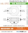 MS35489-39 | Rubber Grommet | Mil-Spec