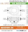 MS35489-541 | Rubber Grommet | Mil-Spec