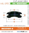 Rubber Grommet | Mil-Spec - MS35489-6
