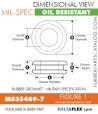 Rubber Grommet | Mil-Spec - MS35489-7