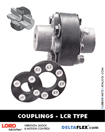 LORD Rubber Driveline Drive Train Coupling LCR